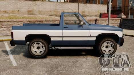 Rancher 1997 para GTA 4 esquerda vista