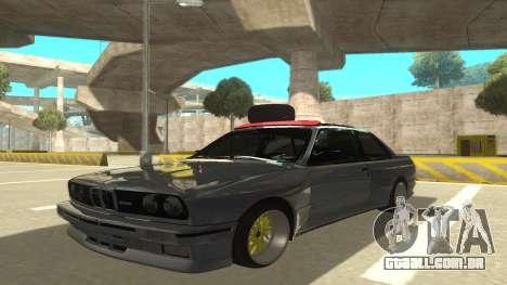 BMW E30 1991 para GTA San Andreas