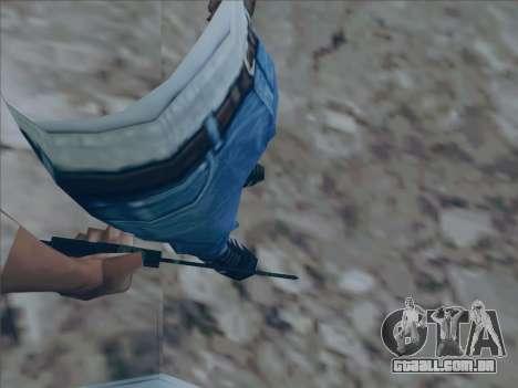 Battlefield 2142 Knife para GTA San Andreas segunda tela