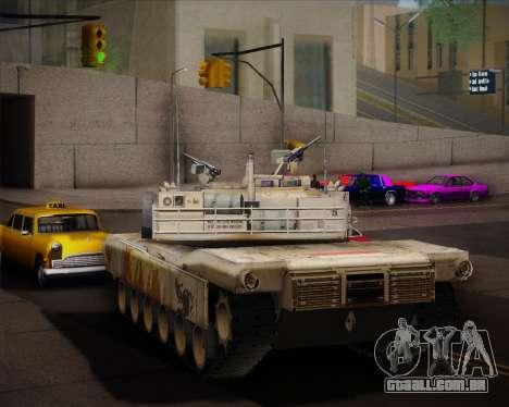 Abrams Tank Indonesia Edition para GTA San Andreas vista direita