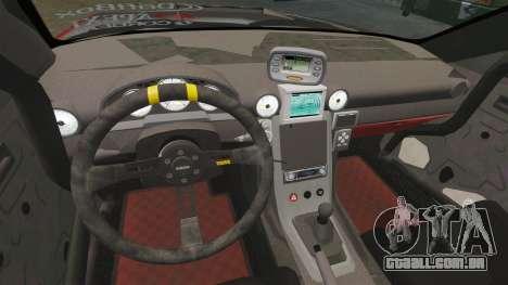 Nissan Silvia S15 para GTA 4 vista interior