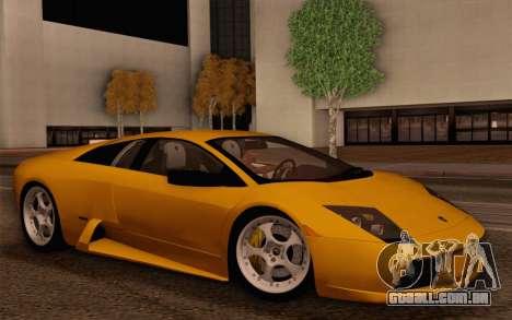 Lamborghini Murciélago 2005 para GTA San Andreas interior