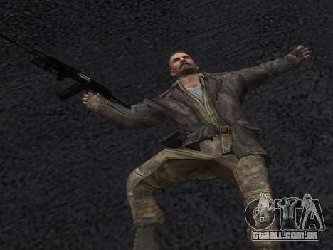 Viktor Reznov para GTA San Andreas sexta tela