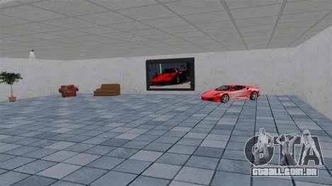 Ferrari Auto Show para GTA 4 por diante tela