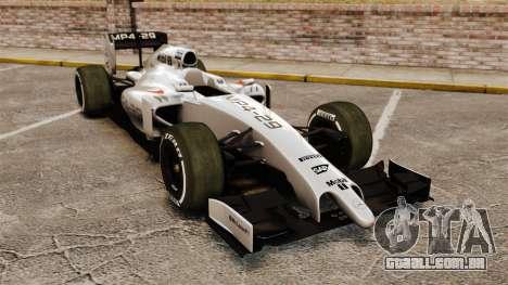 McLaren MP4-29 para GTA 4