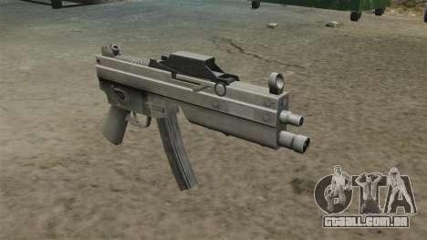Pistola-metralhadora MP5 atualizada para GTA 4