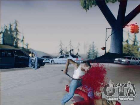 Battlefield 2142 Knife para GTA San Andreas sexta tela