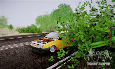 VAZ 21083 baixo clássico para GTA San Andreas vista traseira