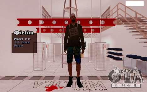 HD Pak Skins vagabundos para GTA San Andreas por diante tela
