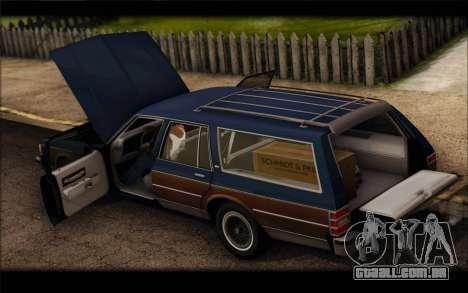 Chevrolet Caprice 1989 Station Wagon para GTA San Andreas vista direita