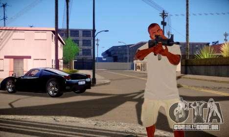 Franklin HD para GTA San Andreas por diante tela