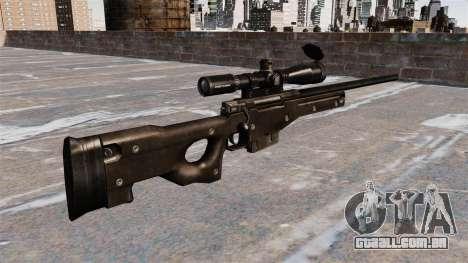 Rifle de sniper AI AWM para GTA 4 segundo screenshot