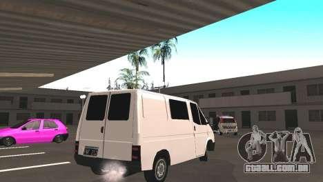 Renault Trafic para GTA San Andreas vista direita