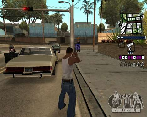 (C) HUD-por Gabbi_Stafford para GTA San Andreas terceira tela