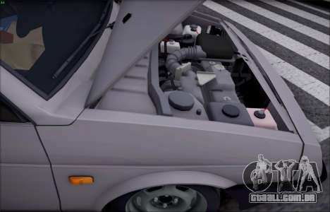 VAZ 21099 para GTA San Andreas vista interior