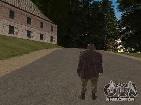 Viktor Reznov para GTA San Andreas quinto tela