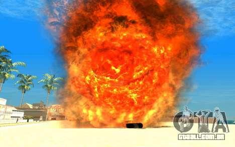 New Effects v1.0 para GTA San Andreas terceira tela