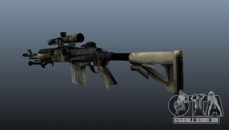 Rifle sniper M21 Mk14 v4 para GTA 4 segundo screenshot