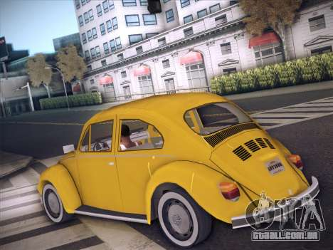 Volkswagen Käfer para GTA San Andreas vista direita