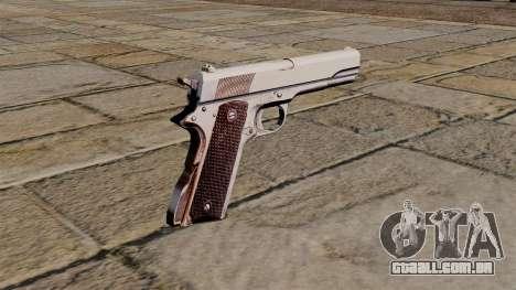 45 pistola Colt M1911 para GTA 4 segundo screenshot