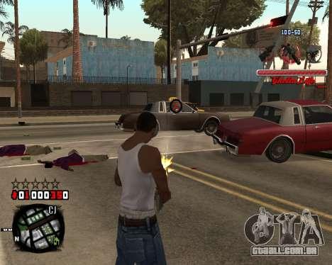 C-HUD Ghetto Live by Sanders para GTA San Andreas segunda tela