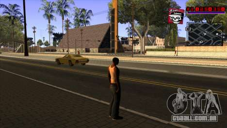 C-HUD Project Capture 6 para GTA San Andreas