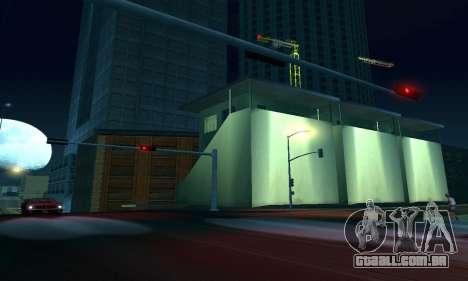 -Concluída a construção em San Fierro V1 para GTA San Andreas nono tela
