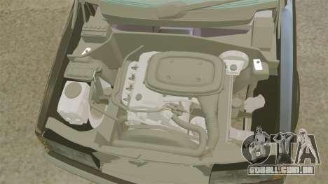 Mercedes-Benz E190 W201 para GTA 4 vista interior