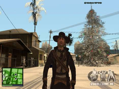 Ray Mccall de Call Of Juarez para GTA San Andreas