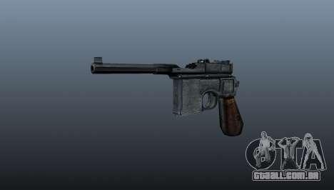 Carregamento automático pistola Mauser C96 para GTA 4