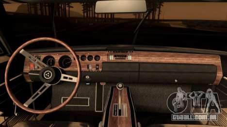 Dodge Charger 440 (XS29) 1970 para GTA San Andreas vista direita