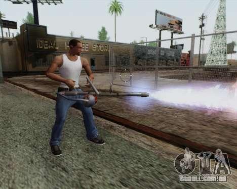 Lança-chamas novo para GTA San Andreas