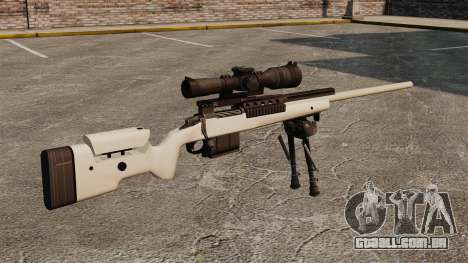 Rifle sniper McMillan TAC-300 para GTA 4 segundo screenshot