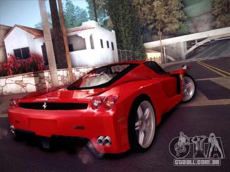 Ferrari Enzo 2003 para GTA San Andreas traseira esquerda vista