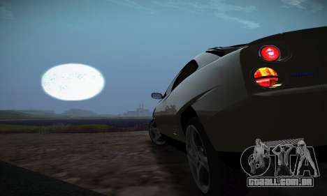 Fiat Coupe para GTA San Andreas vista superior