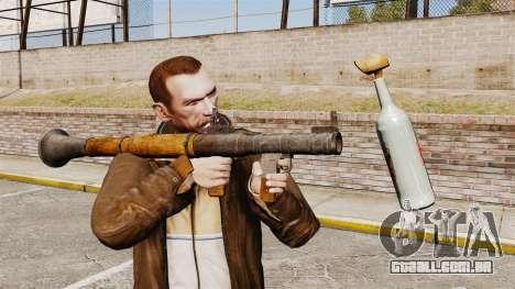 Lançador de granadas anti-tanque, Molotov para GTA 4 segundo screenshot