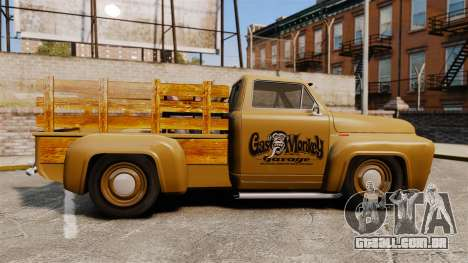 Hot Rod Truck Gas Monkey para GTA 4 esquerda vista