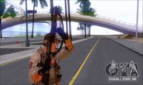 Engineer of Battlefield 4 para GTA San Andreas terceira tela