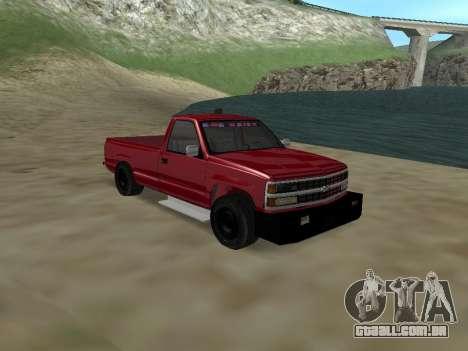 Chevrolet Silverado ATTF para GTA San Andreas