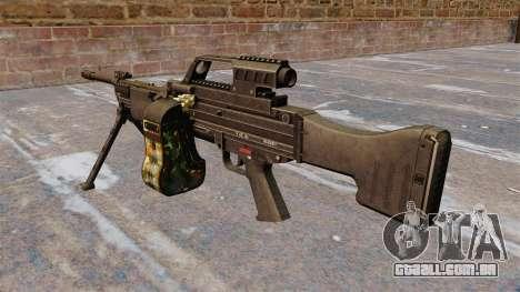 Metralhadora HK MG4 leve para GTA 4 segundo screenshot