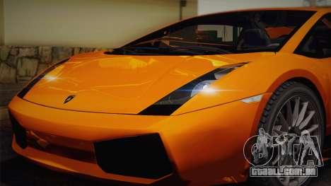 Lamborghini Gallardo Superleggera para o motor de GTA San Andreas