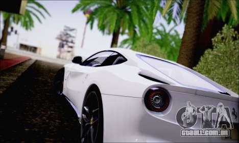 Ferrari F12 Berlinetta Horizon Wheels para GTA San Andreas vista direita