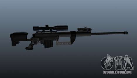 calibre. 50 sniper rifle para GTA 4 terceira tela