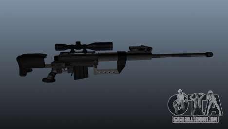 calibre. 50 sniper rifle para GTA 4 terceira tela