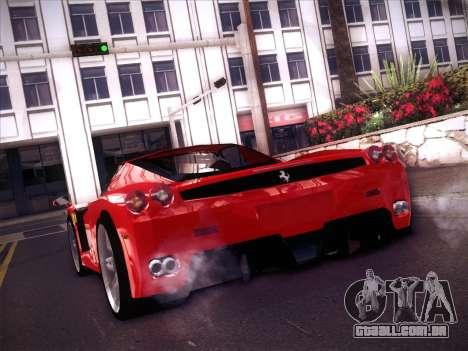 Ferrari Enzo 2003 para GTA San Andreas esquerda vista