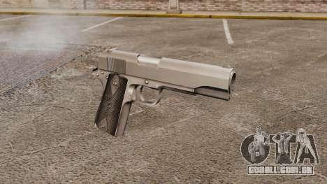 Colt M1911 pistola v3 para GTA 4