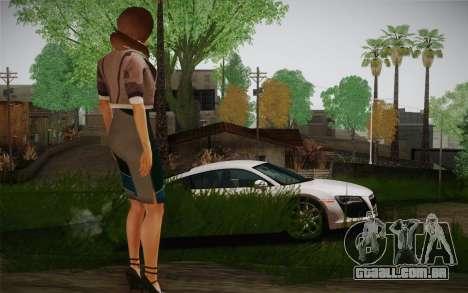 Remember Me Alexia para GTA San Andreas terceira tela