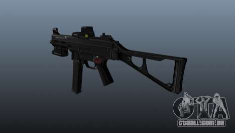 Arma Submachine HK UMP 45 para GTA 4 segundo screenshot