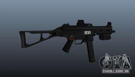 Arma Submachine HK UMP 45 para GTA 4 terceira tela