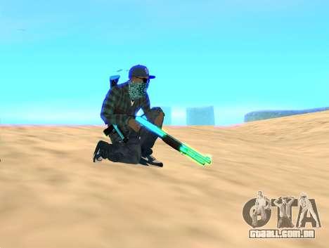 Rifa Gun Pack para GTA San Andreas segunda tela